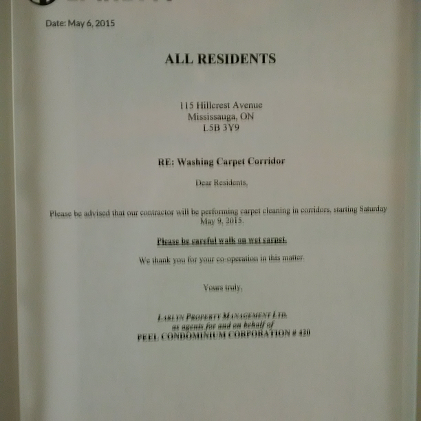 Hillcrest Ave Mississauga Property Management